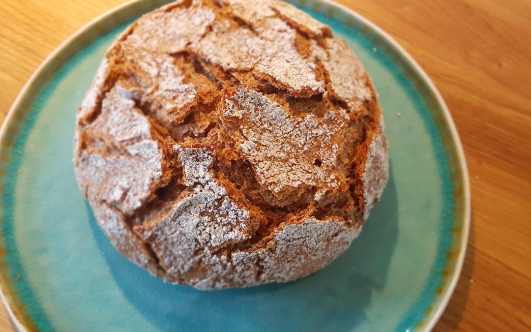 Eenvoudig panbrood